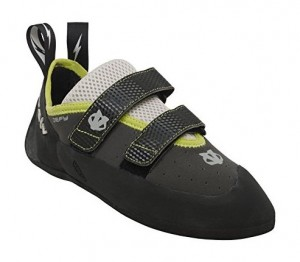 The Evolv Defy climbing shoe