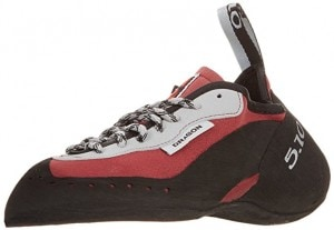 The Five Ten Dragon climbing shoe