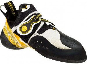 The La Sportiva Solution climbing shoe