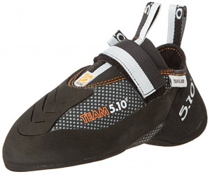 The Five Ten Team 5.10 climbing shoe