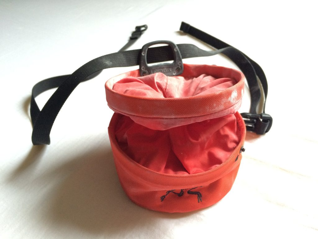 Arc'teryx Aperture chalk bag review