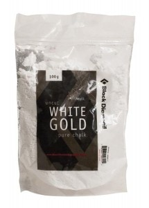 Black Diamond White Gold climbing chalk