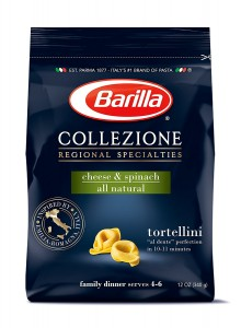 Barilla Cheese and Spinach Tortellini