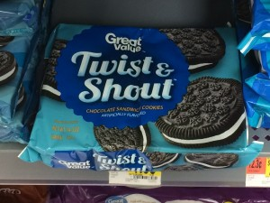 Great Value Twist and Shout Chocolate Sandwich Cookies