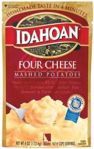Idahoan Four Cheese Mashed Potatoes