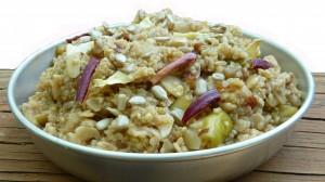 Outdoor Herbivore Apple Quinoa Oatmeal