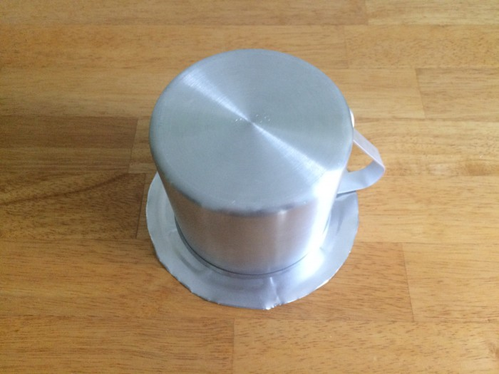 Pie pan base and cook pot