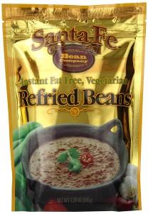 Santa Fe Bean Co. Instant Fat Free Vegetarian Refried Beans