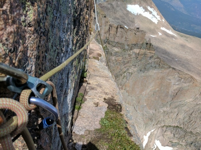Multipitch climbing with the ATC