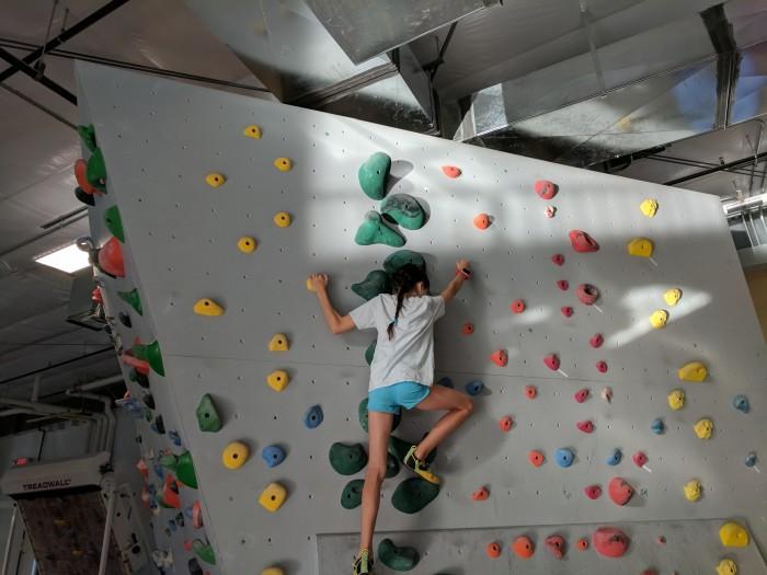 Add-on climbing game