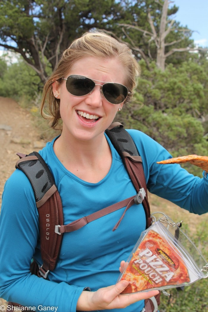 We took the Portable Pizza Pouch out on a day hike