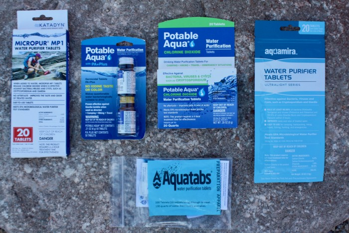 The 5 Best Water Purification Tablets of 2017