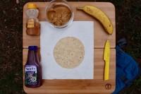PB&J Taco ingredients
