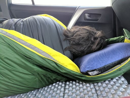 Car camping with the 9 backpacking pillows we tested