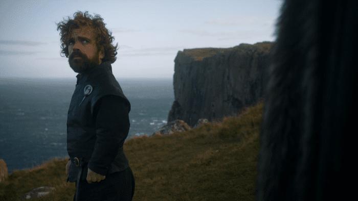 Tyrion and Jon Snow at Fair Head