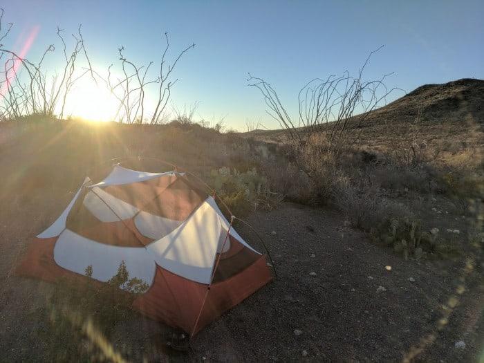 Sunrise at Big Bend