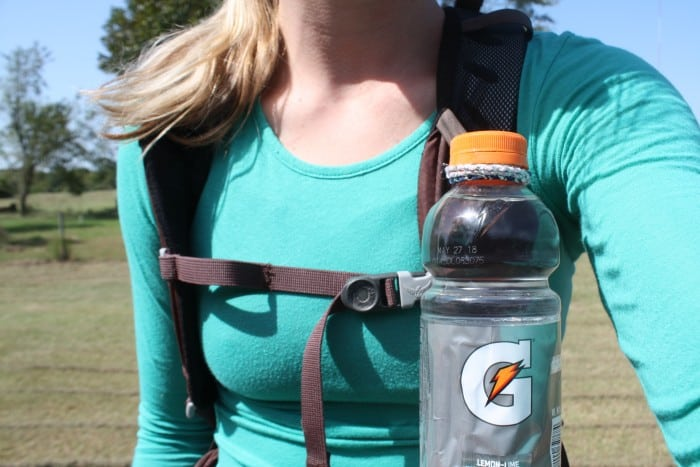 Portable Personal Drinking Bottle Holder Beverage Belt Pocket Clip