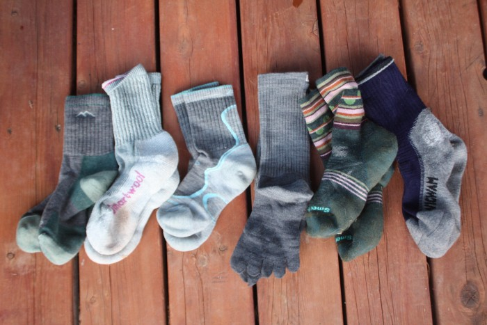 The 6 pairs of hiking socks we tested