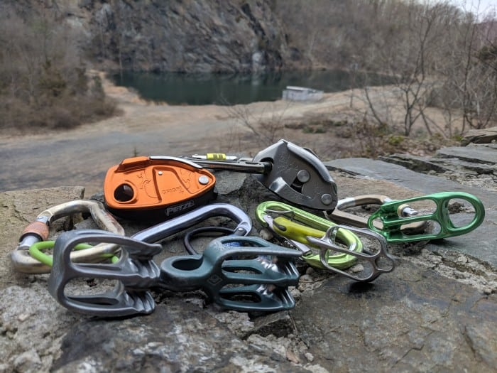 The 6 belay devices we tested in our shootout