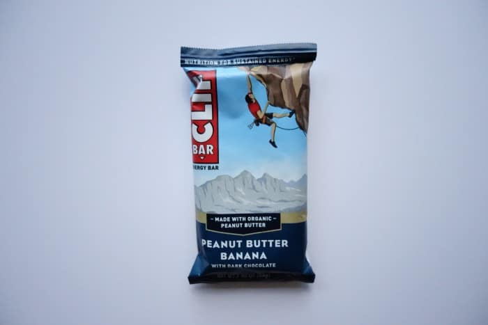 Peanut Butter Banana Clif bar