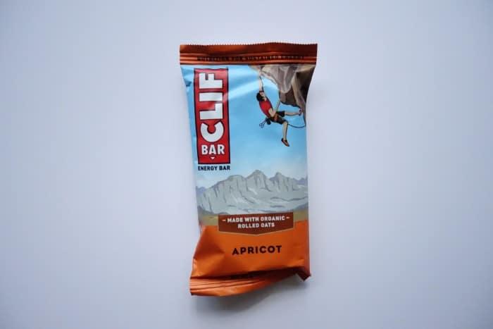 Apricot Clif bar
