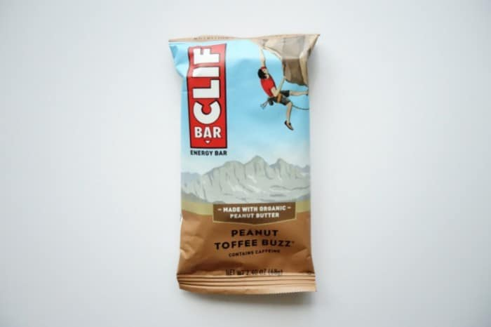 Peanut Toffee Buzz Clif bar