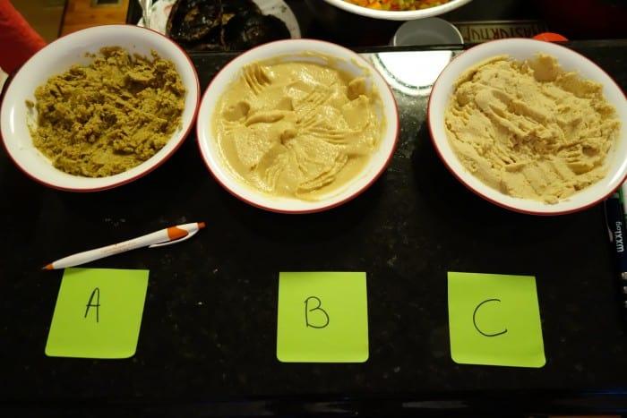 Hummus mixes