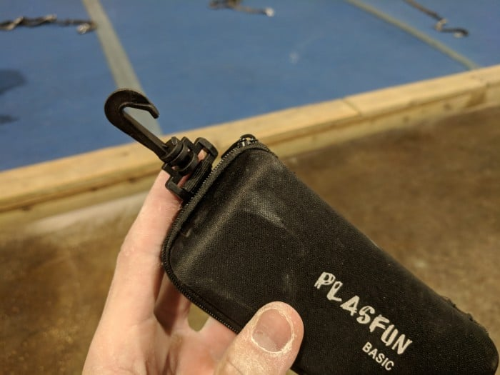The carrying case for the Y&Y Plasfun Basics