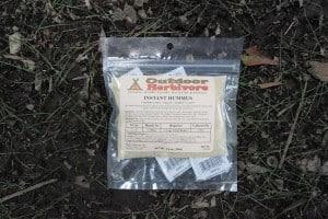 Outdoor Herbivore Instant Hummus Mix