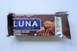 Caramel Walnut Brownie Luna bar