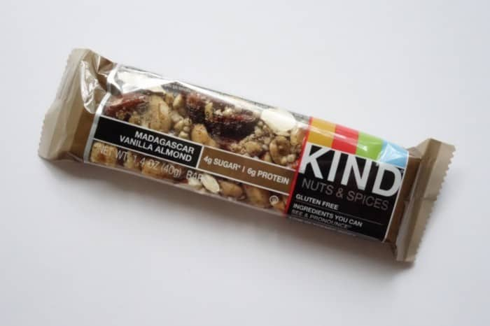 Madagascar Vanilla Almond Kind Bar