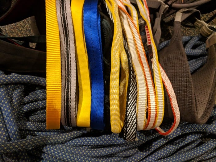 The best climbing slings and runners