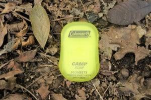 Coleman Camp Soap Sheets