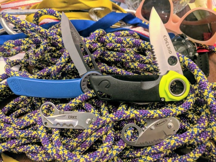 The best climbing knives