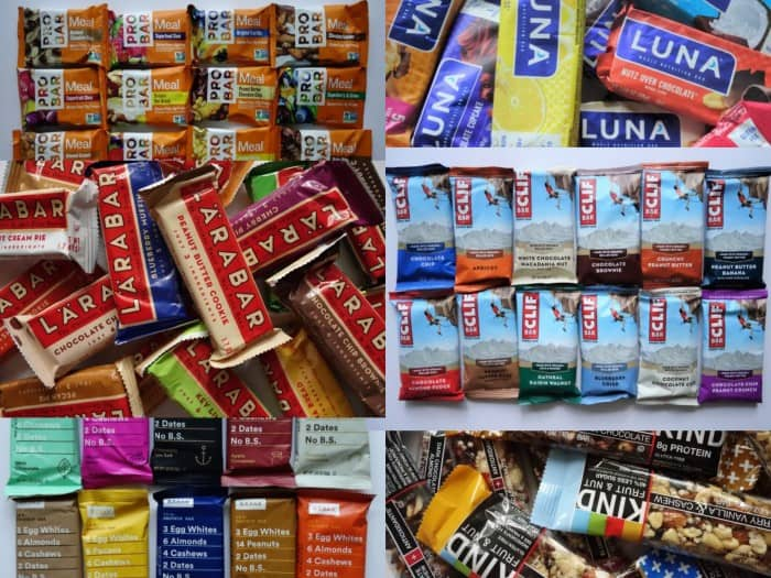 The 78 energy and nutrition bars we taste tested