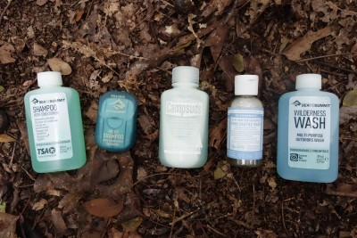 The best biodegradable shampoos for camping and backpacking