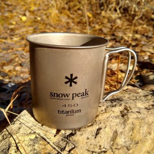 Snow Peak Ti-Single 450 Mug