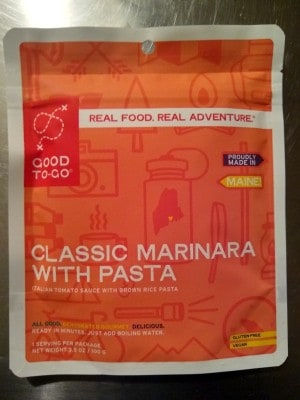 Good To-Go Classic Marinara with Pasta