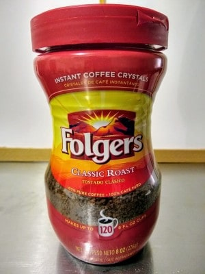 Folger's Classic Roast Instant Coffee Crystals