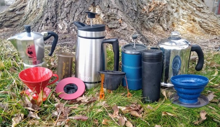 The 10 camping coffee makers we tested.