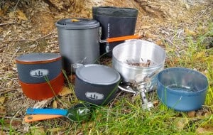 GSI Outdoors Halulite Microdualist Complete Set