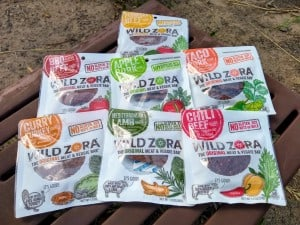 Wild Zora Meat and Veggie Bars