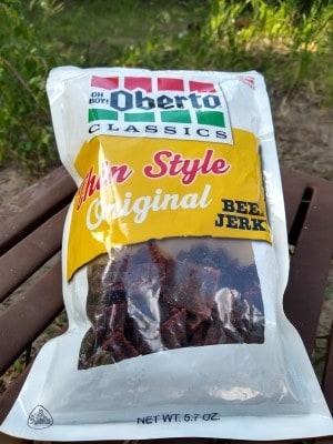Oberto Thin Style Original Beef Jerky