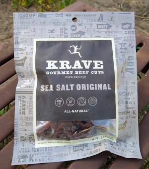 Krave Sea Salt Original Beef Jerky