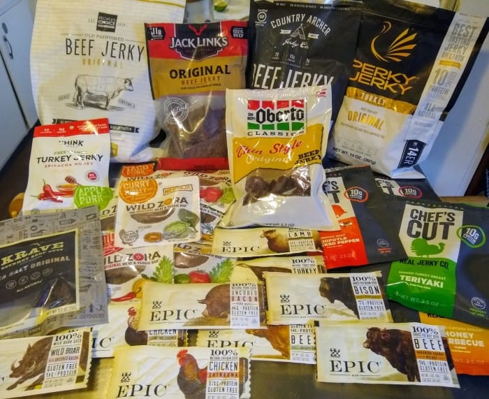 The 10 jerky brands we taste tested.