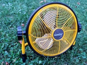 Geek Aire Rechargeable Outdoor Floor Fan