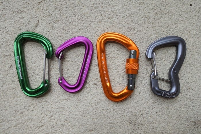 The different types of hammock carabiners