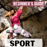 Beginners guide sport climbing pin