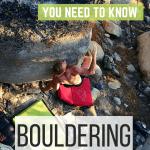 Bouldering guide pin