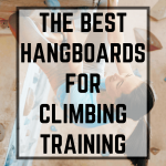 The best hangboards for climbing pin